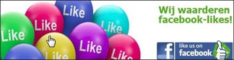 Meer Likes maakt ons blij, klik hier!!