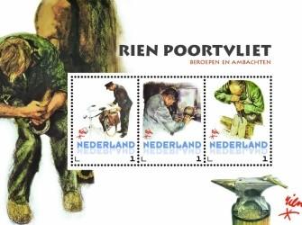Postset Rien Poortvliet 2014 # Beroepen ambachten