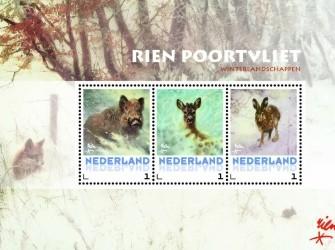 Postset Rien Poortvliet 2014 # Wintertaferelen