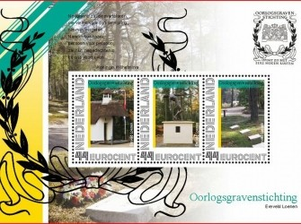 Postset Oorlogsgravenstichting Loenen NVPH 2741-D5