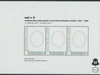 Blokje Stedelijk Museum Schiedam # NVPH 2751-D-19