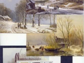 Postset Winterlandschappen # NVPH 2751-B-1