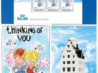 Postset KLM Royal Dutch Airlines # NVPH 2751-D-25