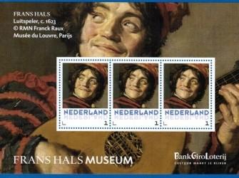 Postset Frans Hals: Luitspeler Persoonlijke zegels
