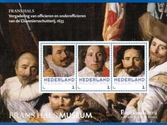 Postset Frans Hals: Vergadering