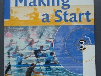 Making a Start 3 Havo/vwo -tekst-en/of werkboek A 112/ A113