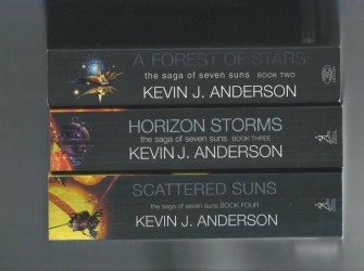 the sage of seven suns -HORIZON STORMS -KJ-ANDERSON
