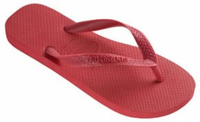 NIEUW! Havaianas slippers Top mt 35/36 in oud-roze