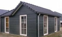 Recreatie woning in L Model