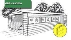 Dubbelwandige beton garage , beton systeembouw rabat dubbel…