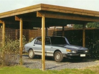 Carport dubbele carport met staaldak