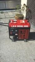 Diesel aggregaat Boudech