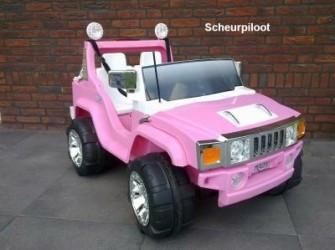 Jeep, 2 pers 12V & FM radio & MP3 aansl *NIEUW*
