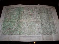 3x Roadmap van geallieerden 1945.