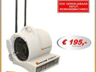 tapijtblower bouwdroger tapijtdroger ventilator