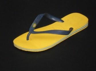 NIEUW! Havaianas slippers Brasil mt 39/40 in geel