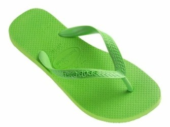Havaianas herenslippers Top mt 47/48 in appelgroen