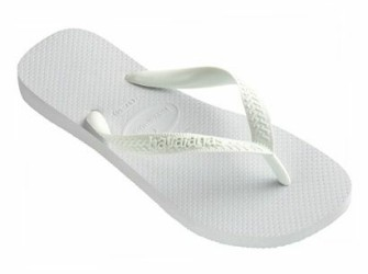 NIEUW! Havaianas herenslippers Top mt 47/48 in wit