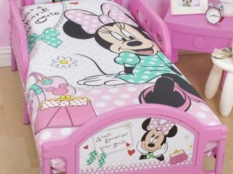 Minnie Mouse MAKEOVER Kinderbed | Peuterbed
