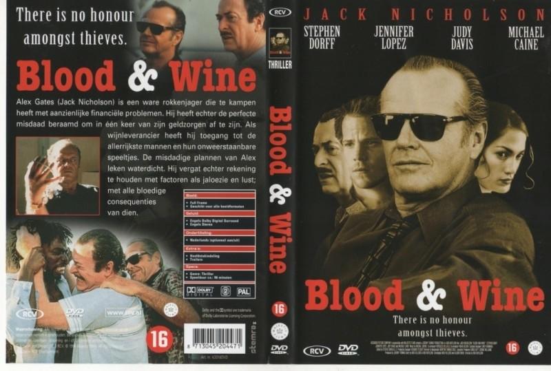 Blood and Wine, misdaad,'96,J.Nicholson/J.Lopez,ondert.nieu…