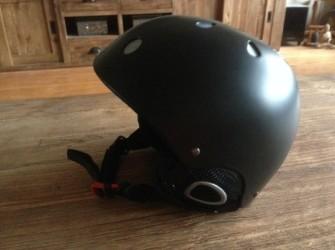 Zwarte ski/snowboard helm maat S, 1x gedragen