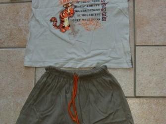 T-shirt en korte broek Teigetje maat 110