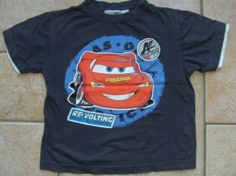 T-shirt Cars maat 110-116