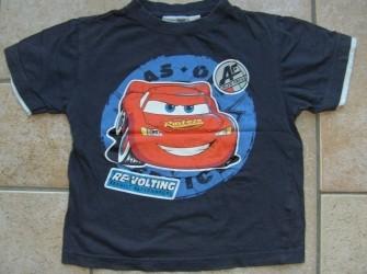 T-shirt Cars maat 110-116