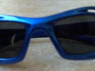 Kinder zonnebril blauw