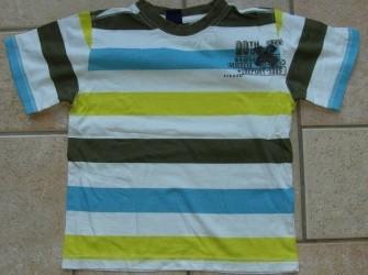 T-shirt gestreept maat 104
