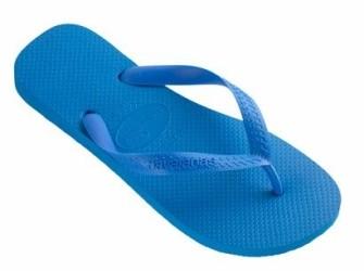 NIEUW! Havaianas slippers Top mt 41/42 hemelsblauw