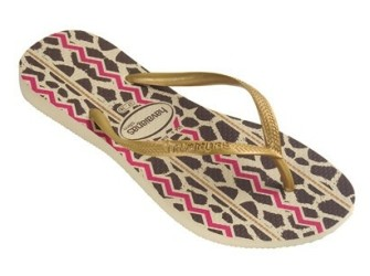 Havaianas slippers Slim Animals m 41/42 Golden Sun