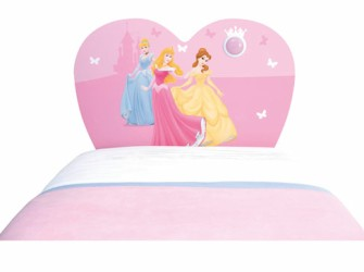 Disney Princess Light Up Hoofbord of Hoofdeinde Bed