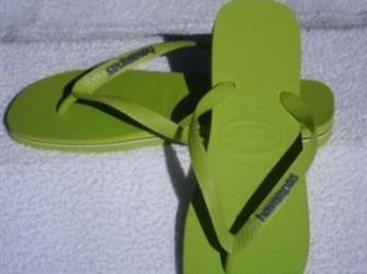 Havaianas slippers Brasil Logo m 43/44 limoengroen