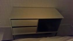 Witte tv meubel / wandkast