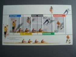 1982,cat nr 1517, blok / vel kinder postzegel , postfris