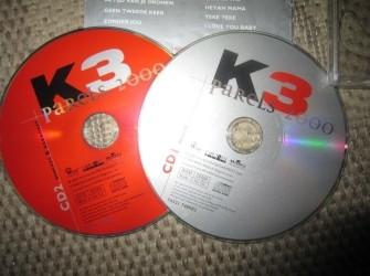 2 K3 CD's Parels 2000.