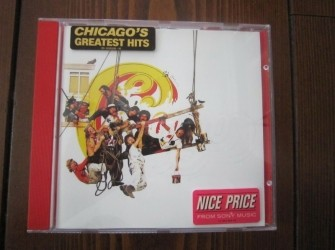 CD Chicago Greatest Hits.