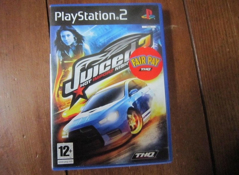 Juiced2 race spel ps2.