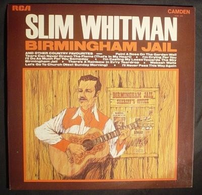 LP Slim Whitman,Birmingham Jail,1969,CMD 1018
