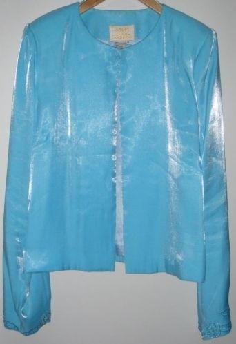 Mooi lichtblauw cocktail jasje van Expose