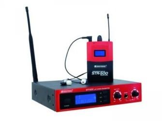 Omnitronic IEM-500 In-Ear-Monitoring-Set Pandjeshuis