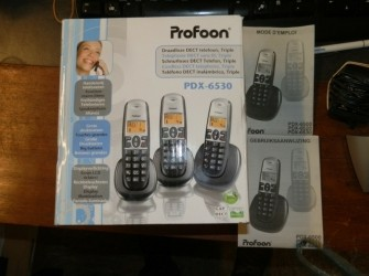 Profoon dect telefoon in doos Pandjeshuis