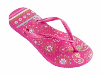 Havaianas slippers Kids Slim Garden mt 29/30 roze