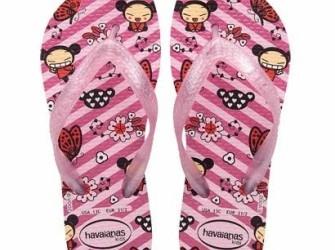 Havaianas slippers Kids Pucca mt 31/32 licht roze