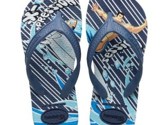 Havaianas slippers Kids Surf mt 31/32 in blauw