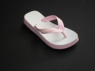 Havaianas slippers Original mt 31/32 in licht roze