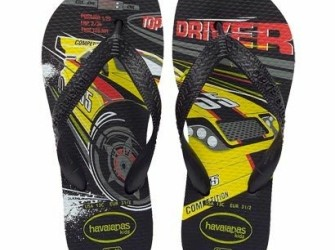 Havaianas slippers Kids Speed mt 33/34 in zwart