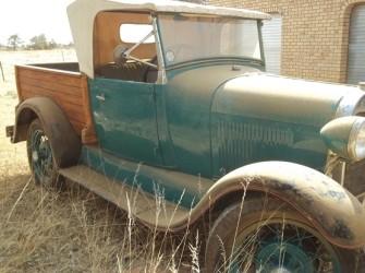 Ford A Pickup . Jaar : 1928