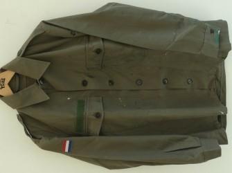 Jas, Gevechts, Uniform, M78, KLu, maat: 44, 1983.(1)